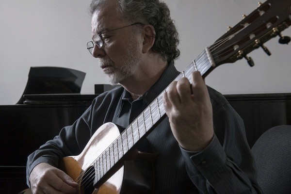 Manuel Barrueco started playing the guitar as a child in Cuba.David Colwell
