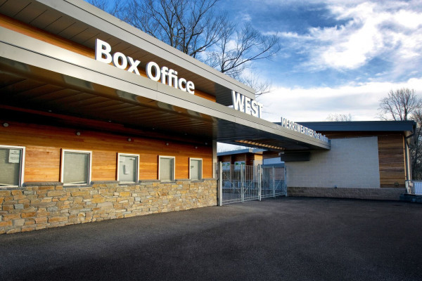 The new box office at Merriweather Post Pavilion.Courtesy of I.M.P.