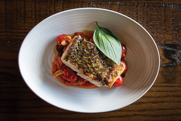 The rockfish cacciatore.Scott Suchman
