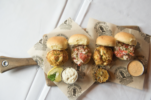 Plug Ugly's Publick House returns to the festival this year with its seafood sliders. Photography by Dave McIntosh Photographics