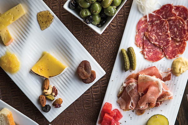 The charcuterie includes choices like chorizo and soppressata.Photography by Ryan Lavine