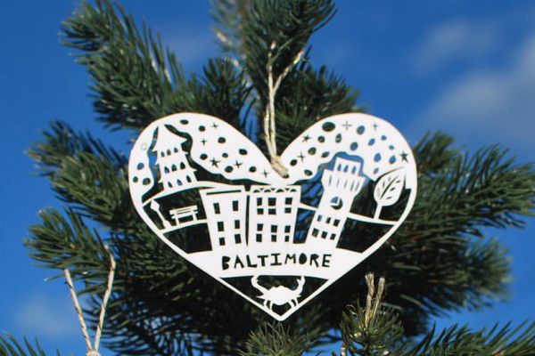 Annie Howe Papercuts will be among the many local vendors setting up shop at Holiday Heap this weekend. Courtesy of Annie Howe Papercuts