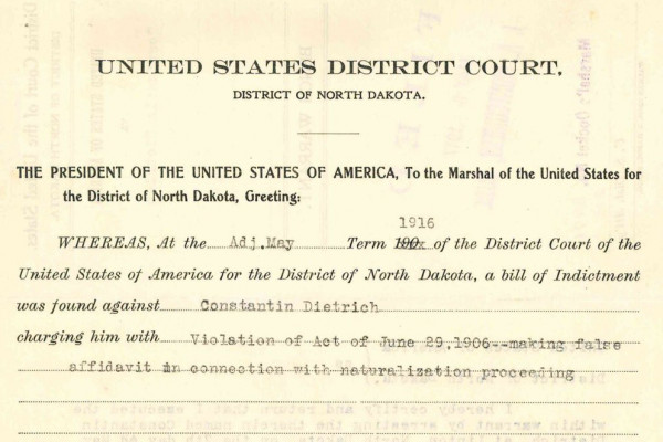 Court documents for Tomi Lahren's great-great-grandfather. Jennifer Mendelsohn