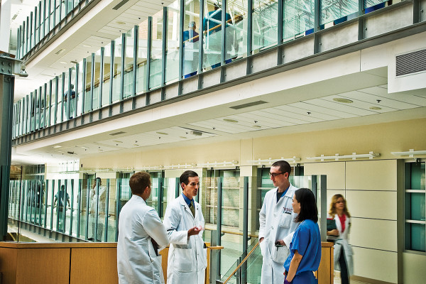 "More than 60 of our ""Top Docs"" are affiliated with The University of Maryland Medical Center.Photo by Bryan Burris"