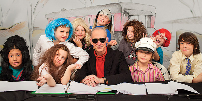 John Waters presents Kiddie Flamingos.Courtesy of the Baltimore Museum of Art.
