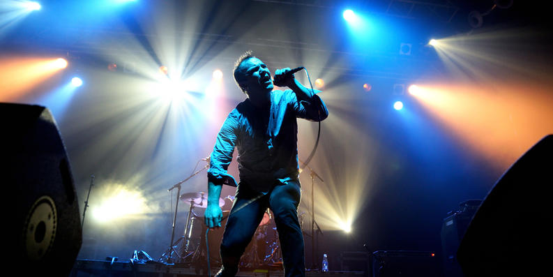 Sam Herring of Future Islands.Christian Bertrand via Shutterstock.