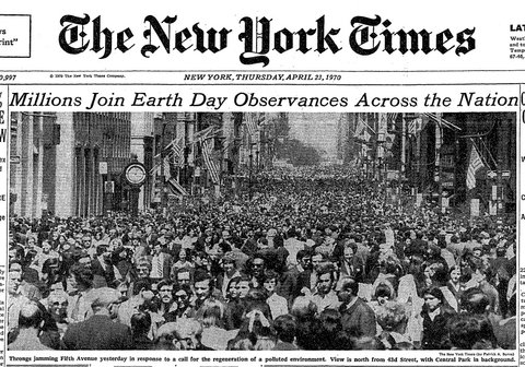 Image result for first earth day in 1970