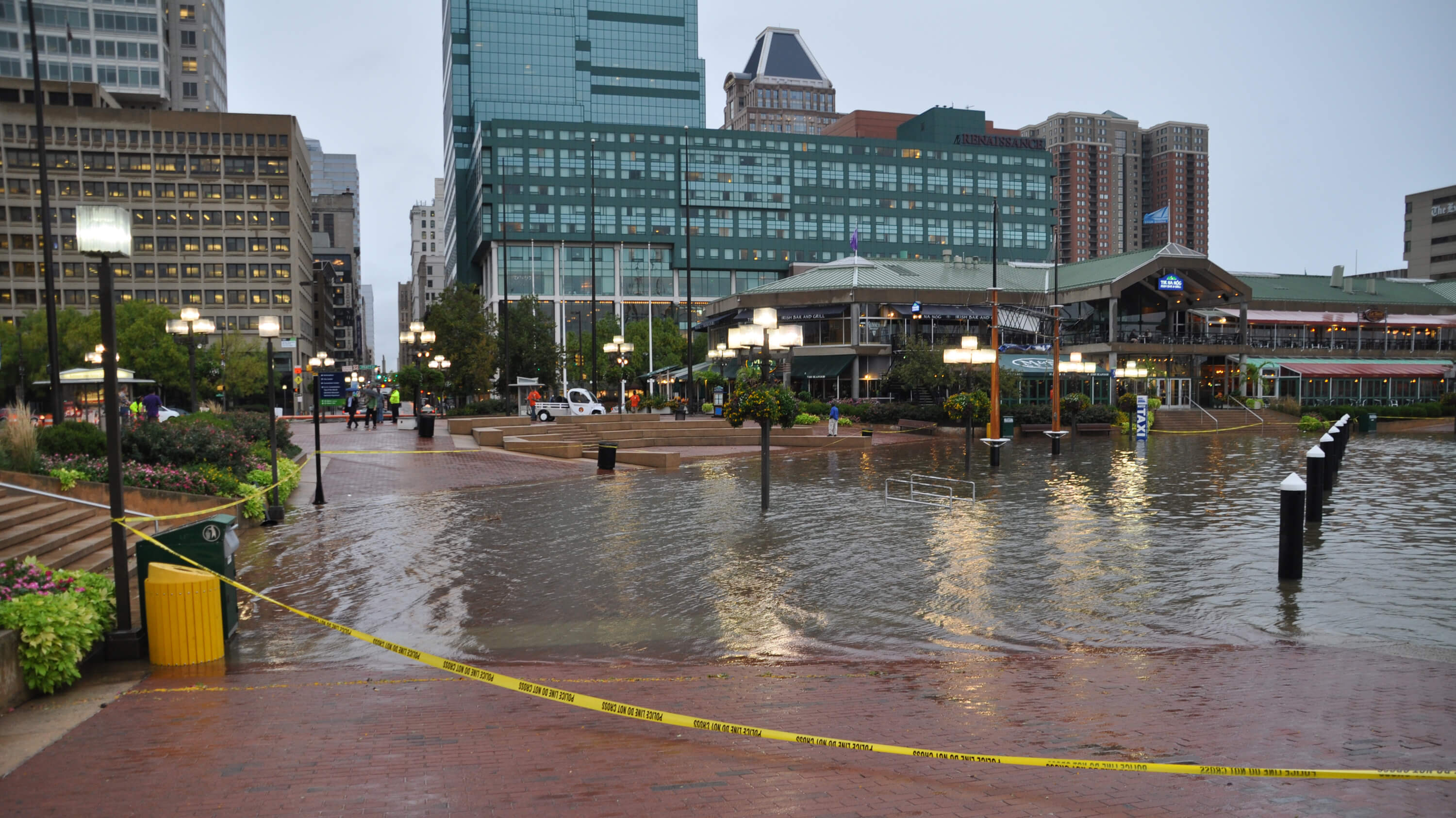 The sea also rises the inner harbor fells point and the greater baltimore harbor area will be challenged by ever stronger storm surges photo credit baltimore city nvjuhfo Gallery